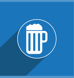 Beer icon sign icon symbol flat icon flat vector