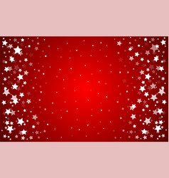 Stars red background vector