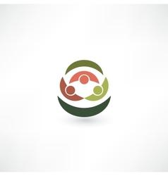 Team symbol vector