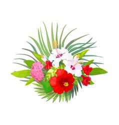 Tropical pattern clip art vector