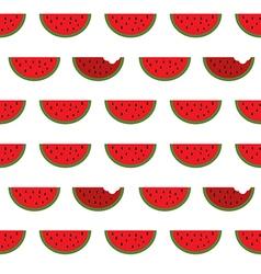 Watermelon seamless pattern background vector