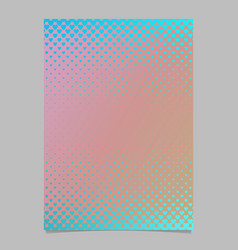 abstract gradient heart pattern page template - vector image vector image
