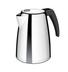 An isolated electric tea kettle vector image
