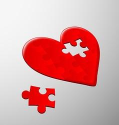 Human heart stock vector