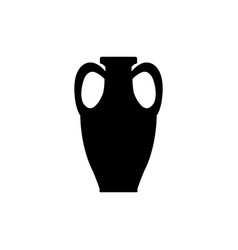 ceramic vase icon vector image
