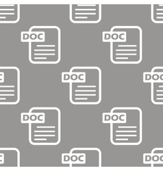 Doc seamless pattern vector image