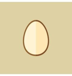 Egg Food Flat Icon vector