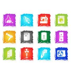Home applicances simply symbols vector