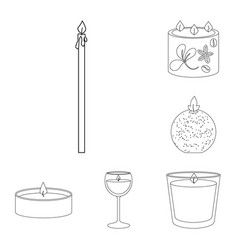 isolated object of source and ceremony logo vector image