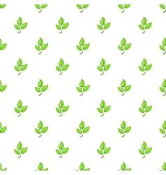 Plant pattern cartoon style vector