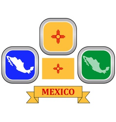 symbol of MEXICO vector image