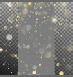 blurred bokeh of christmas lights eps 10 vector image