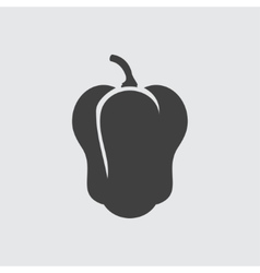 Pepper icon vector image vector image