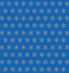 Star arrow pattern vector image