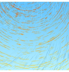 Abstract Sun And Wind vector image