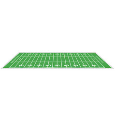 american football field background rugby stadium vector image