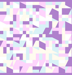 Colorful mosaic pattern background - abstract vector