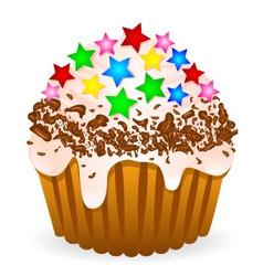 Delikate cake vector image