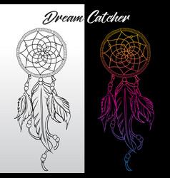 Dream catche-icon vector