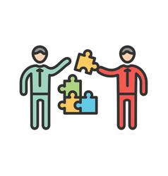 management skills vector image