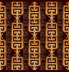 Modern greek key seamless pattern geometric vector
