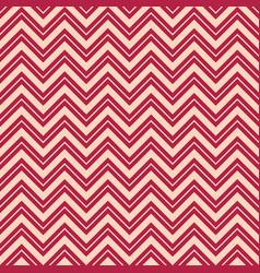 seamless fashion zigzag pattern vector image
