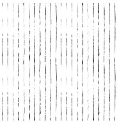 Striped hand drawn seamless pattern vector