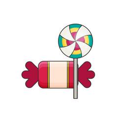candies flat vector image vector image