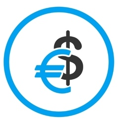 Currency Flat Icon vector image
