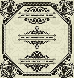 A set of elements for design vector image vector image