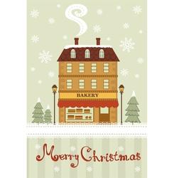 Christmas Bakery vector image