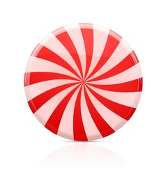 striped sugar candy vector image