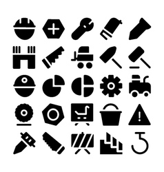 Construction Icons 11 vector image vector image