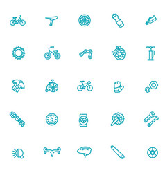 bike tools and equipment part vector image