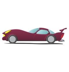 Cartoon sportscar vector