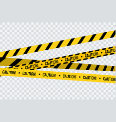 Caution tape stripe danger line police hazard do vector