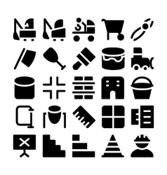 Construction Icons 12 vector