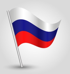 Flag russia vector