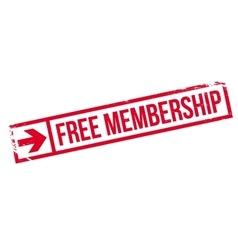 Free membership stamp vector
