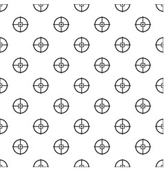 Point gun aim pattern seamless vector