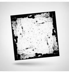Textured Frame Grunge vector image vector image