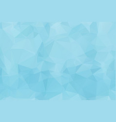 blue white light polygonal mosaic background vector image