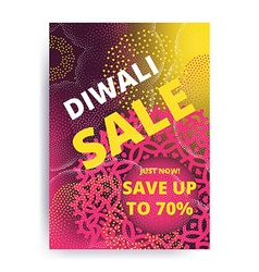 Diwali big sale vector