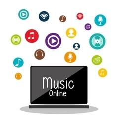 Download music online vector