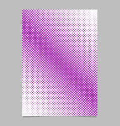 halftone circle pattern background poster design vector image
