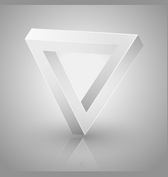 optical triangle vector image