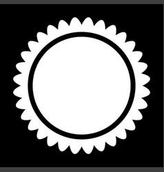 sun it is icon vector image