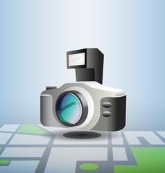Photo pin vector image vector image