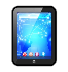 touchpad vector image vector image