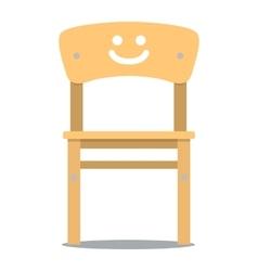 Children chair vector